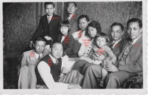 1935 Utrecht,Fam. Hok Heng Kho op bezoek bij hun familie